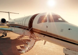 Business jet from Inflite promotional video