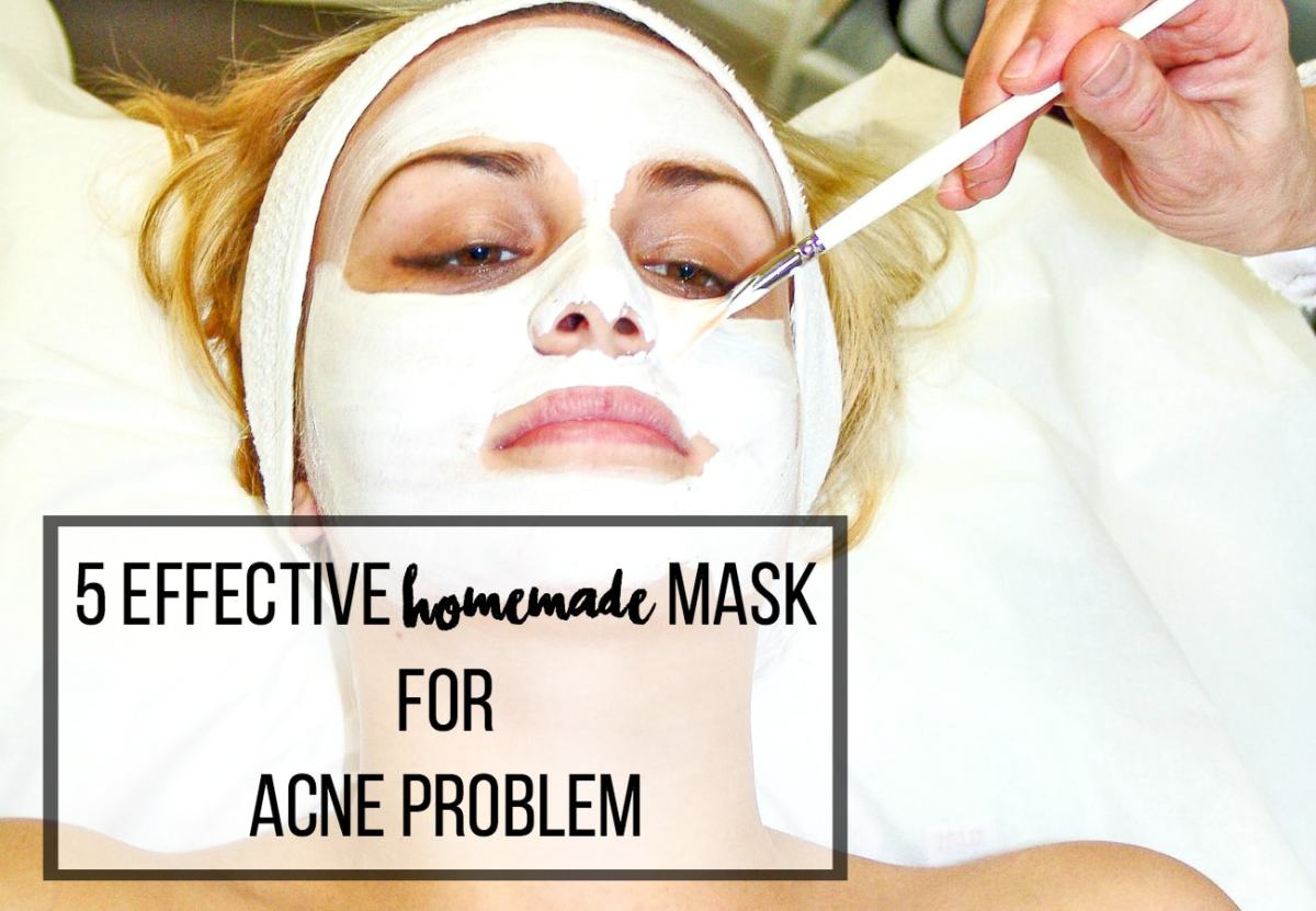 5 Effective Home Made Masks for Acne Problem