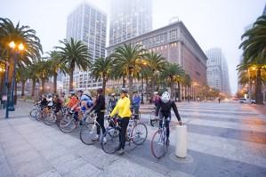 bikers in SF