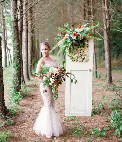 Whimsical Woodland Wedding Inspiration - Green Wedding Shoes