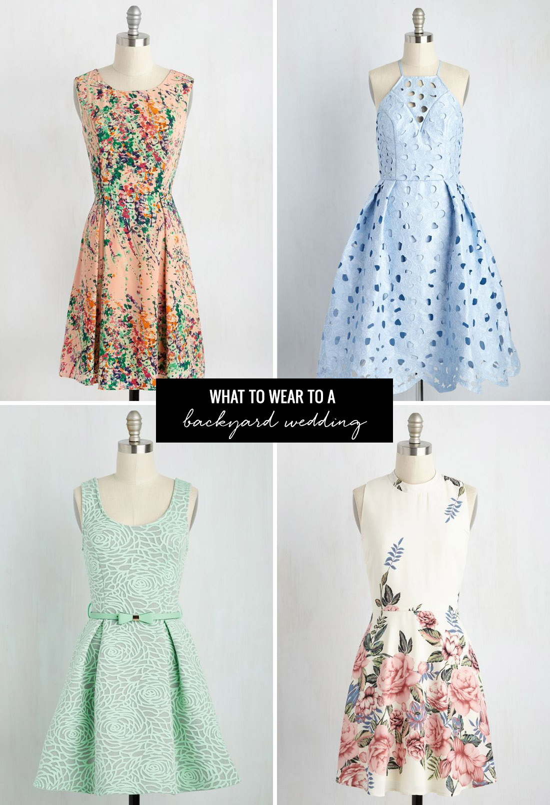 what to wear to a summer wedding with modcloth backyard wedding dresses what to wear to a backyard wedding