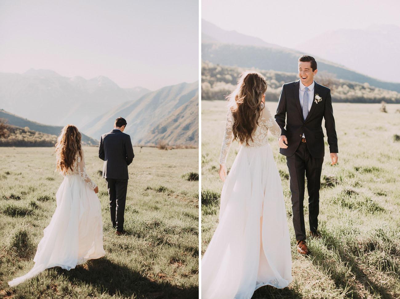 french bohemian backyard wedding gabby patrick backyard wedding dresses Utah Backyard Wedding