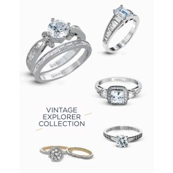 Distinguished Vintage Explorer Collection From Simon G Engagement Rings Simon G Green Wedding Shoes Simon G Rings Tr 152 Simon G Rings Reviews