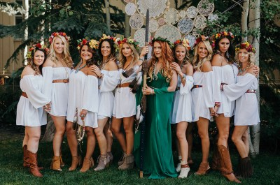 This Bride Threw her Bridesmaids the Ultimate Boho Party ...