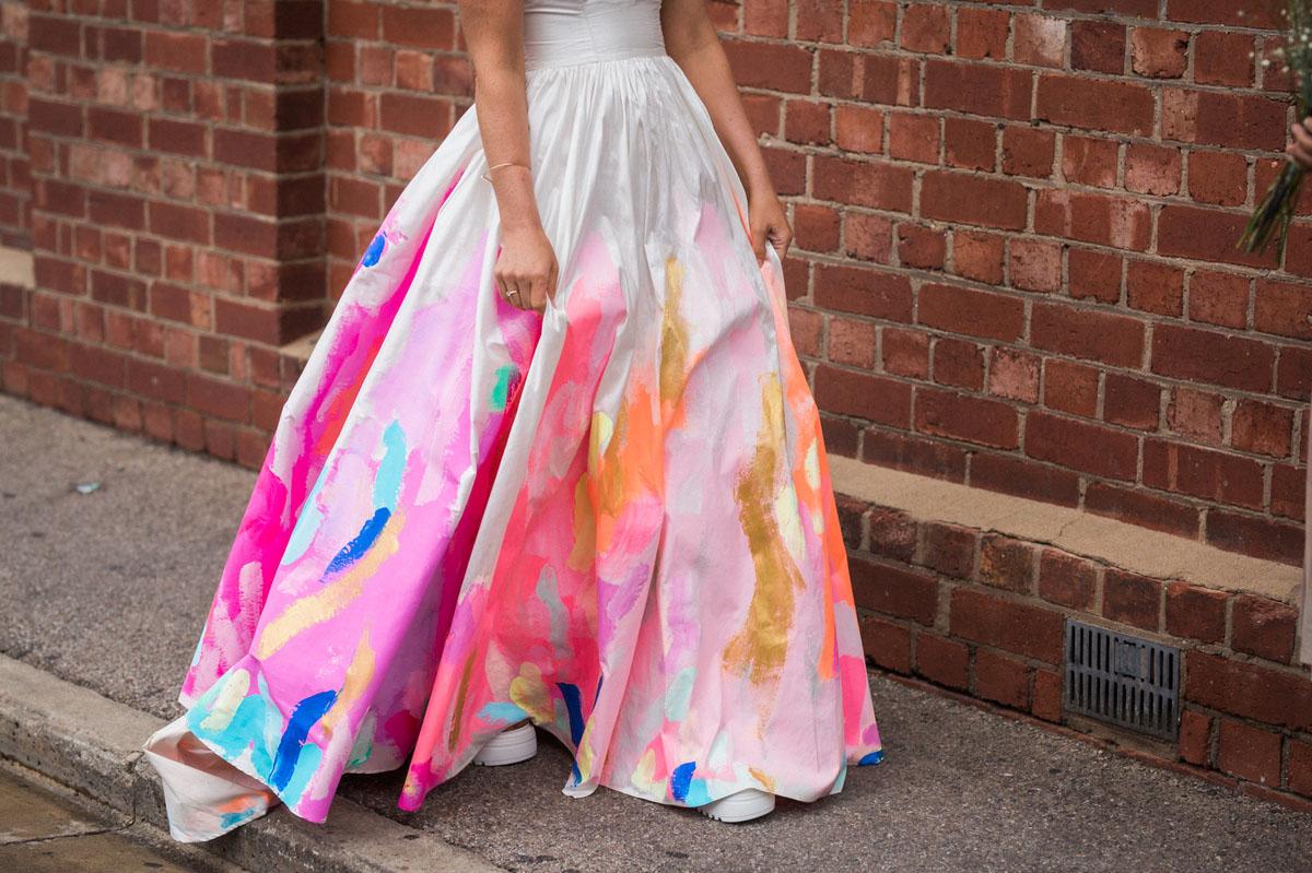 Fullsize Of Rainbow Wedding Dress