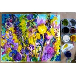 Grand Acrylic Painting Tutorial Acrylic Painting Tutorial Green Willow Studio Easy Acrylic Paintings On Canvas Easy Acrylic Paintings Pinterest inspiration Easy Acrylic Paintings