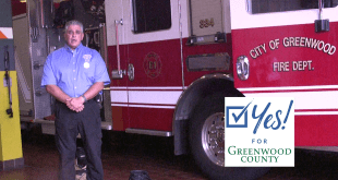 Yes to Greenwood, Fire Department