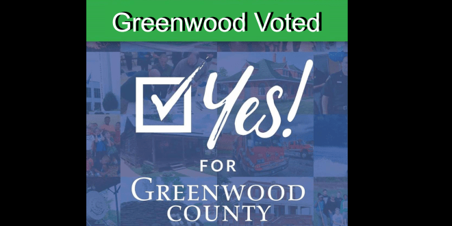 Greenwood has voted Yes