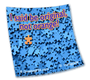 Stix. Be original not orange
