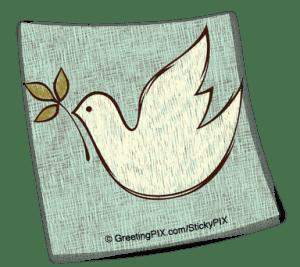 Stix. Christmas Dove