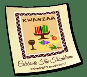 Stix. Kwanzaa Tiles