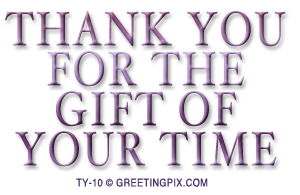 GreetingPIX.com_Word Pictures_Thanks For The Gift Of Your Time