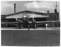CNAC's first DC-2, assembled and ready to fly
