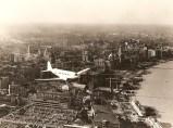 Maiden flight over the Shanghai Bund, 1935