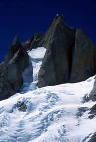 Aguja Tito Carrasco and A Fine Piece, the West Pillar of Cerro Pollone