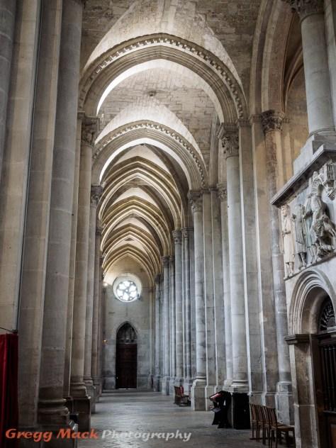 Medieval church in Vienne.