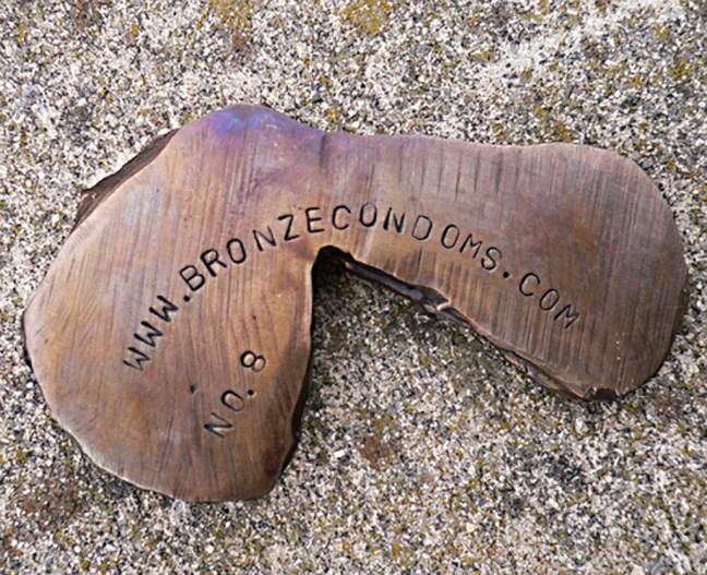 bronze condoms, Greg Mettler