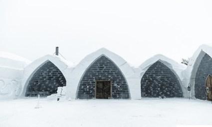 Ice Hotel Chapel