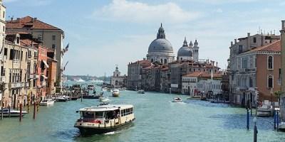 The paths through Venice: September 2015