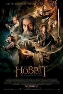 Movie poster for the Desolation of Smaug