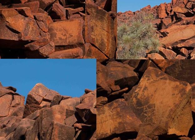 Examples of rock art
