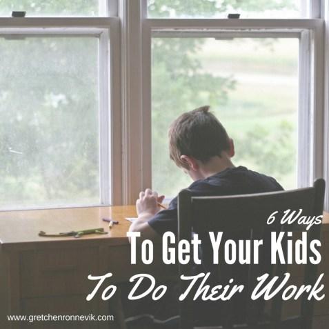 6-ways-to-get-your-children-to-do-their-work