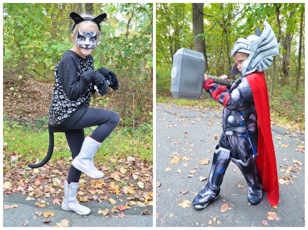 Thor and Panther costumes greyhouseharbor.com
