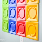 DIY Lego Party Wall | greyhouseharbor.com