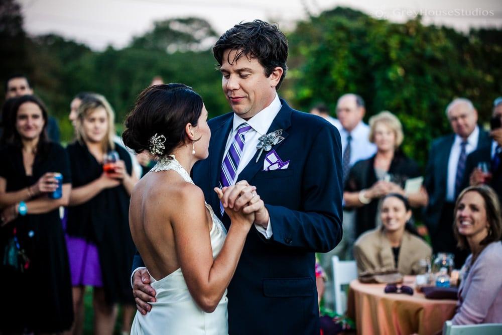 Meghan + Derek's Kinney Bungalow Sunset Farm wedding photos in Narragansett, RI