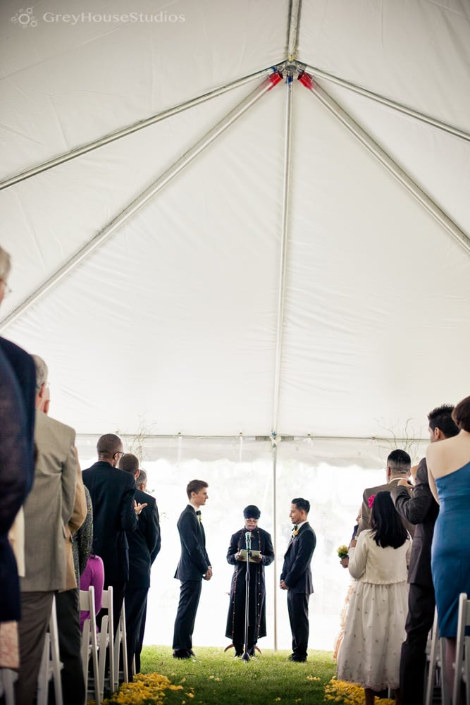 Andrew + Xavier's same-sex estate wedding at Winvian resort in Morris, CT