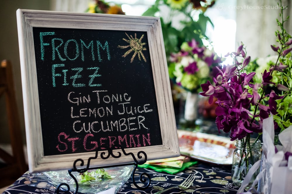 wedding day drink menu photo fromm fizz