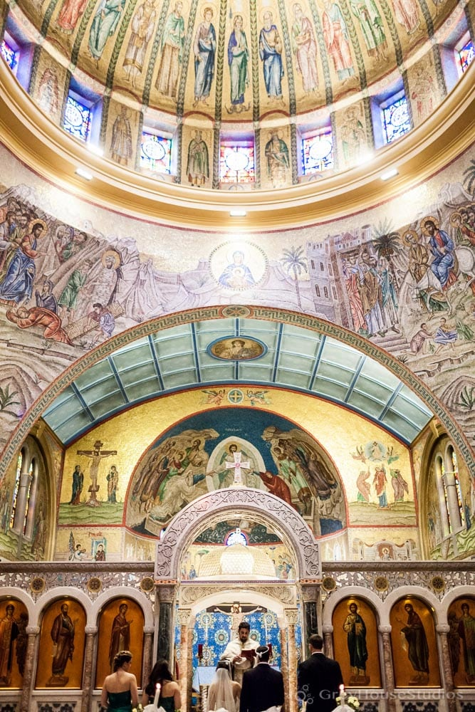 long island wedding ceremony cathedral st paul hempstead photos rings
