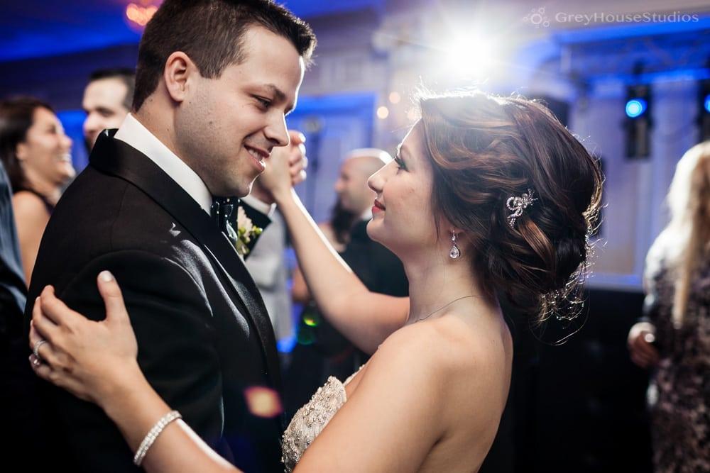 jericho terrace dome room wedding photos groom bride first dance mineola long island