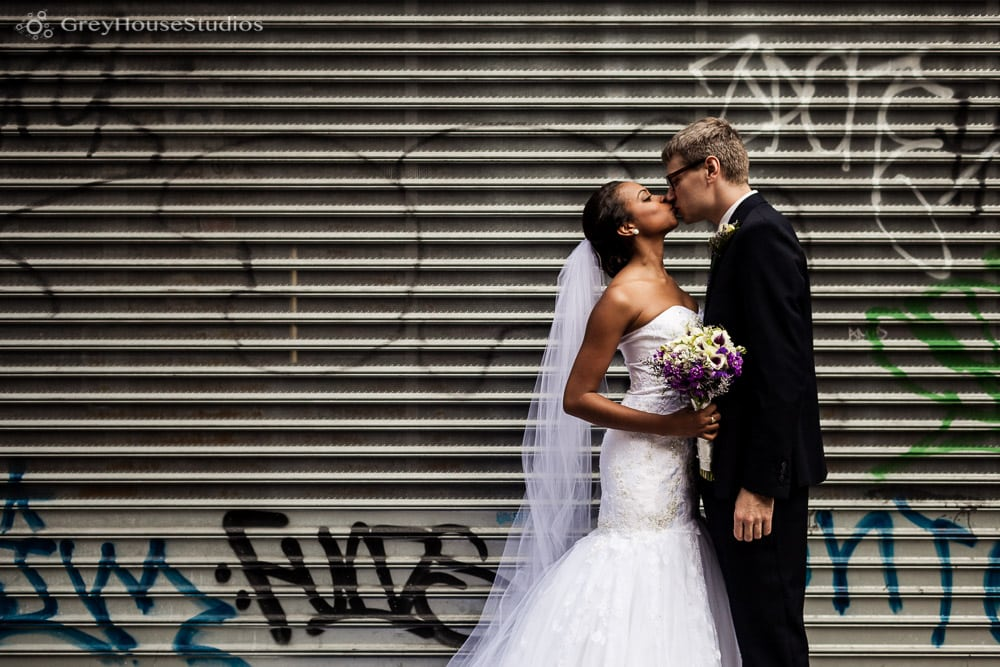 nyc wedding bride and groom portrait photos after first look