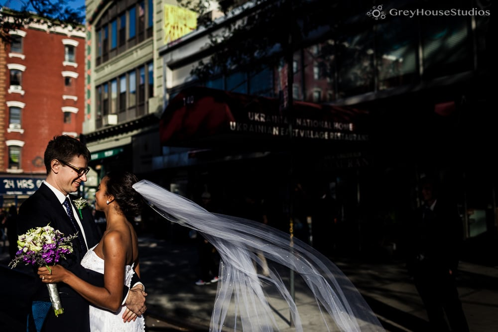 nyc east village wedding couples portraits photos