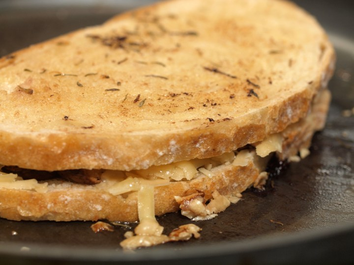 Cabot Clothbound Cheddar Grilled Cheese