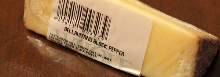 Satori Black Pepper Bellavitano