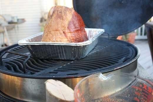 Grill Glazed Spiral Ham - 13