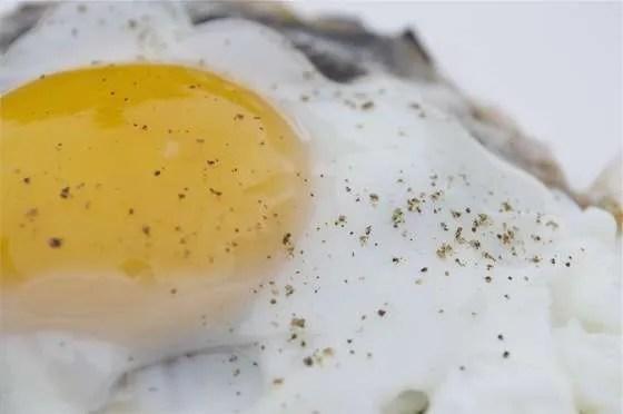Portobello Eggs on the Grill - 082