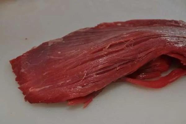 Adobo MarinatedF Flank Steak Fajitas - 039