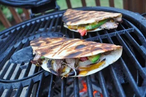 Adobo MarinatedF Flank Steak Fajitas - 156