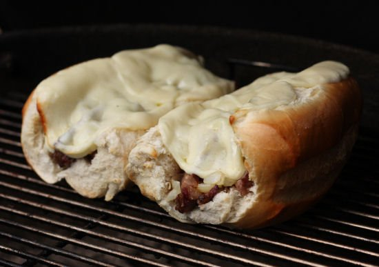 Grilled Ribeye Steak Sandwiches