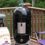 How to light a Weber Smokey Mountain BBQ Smoker to Smoke Ribs