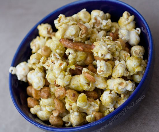 Sriracha Lime Crunch Mix Recipe - Tailgate snack mix