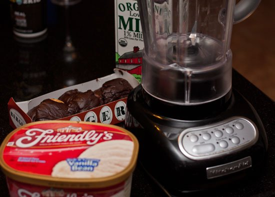 Ingredients for a Berger cookie milkshake #baltimore #recipe