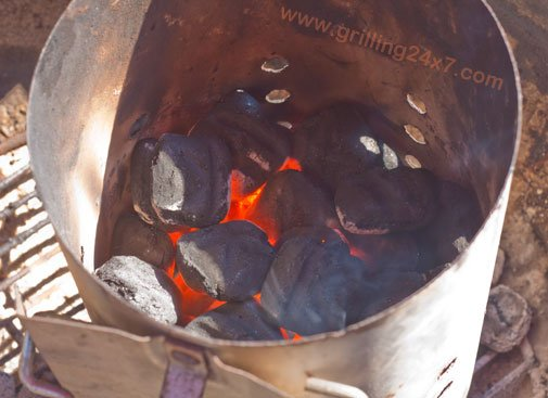 How much charcoal to use - when to dump a charcoal chimney