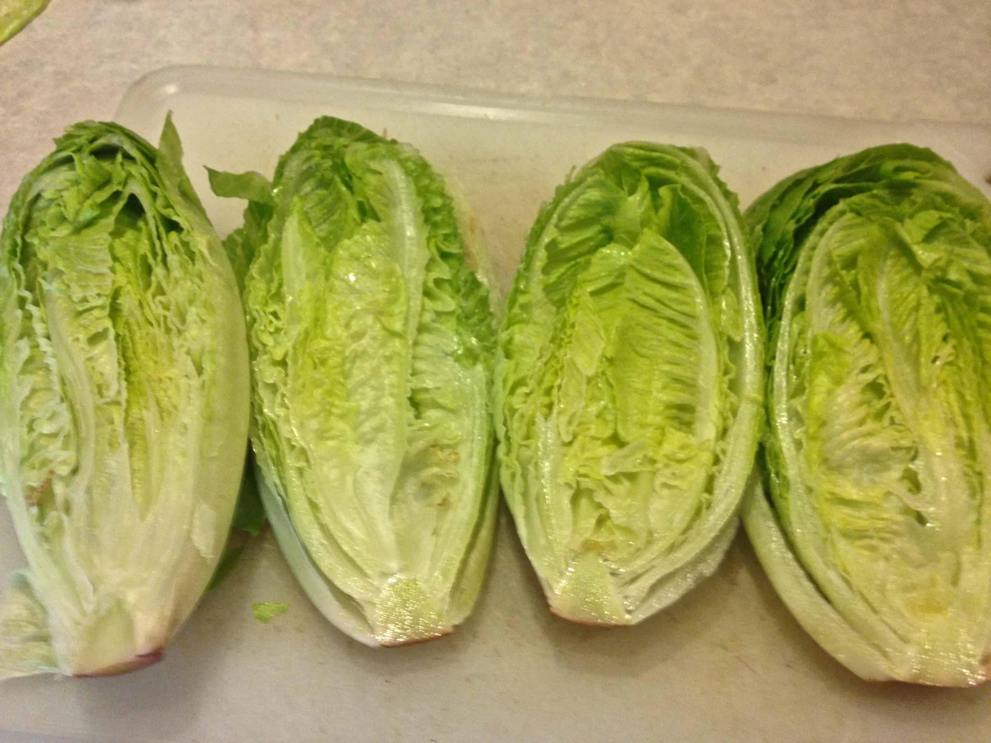 Grilled Romaine BLT Salad With Shrimp | Grilling Montana
