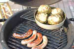 Grilled Artichoke Dip