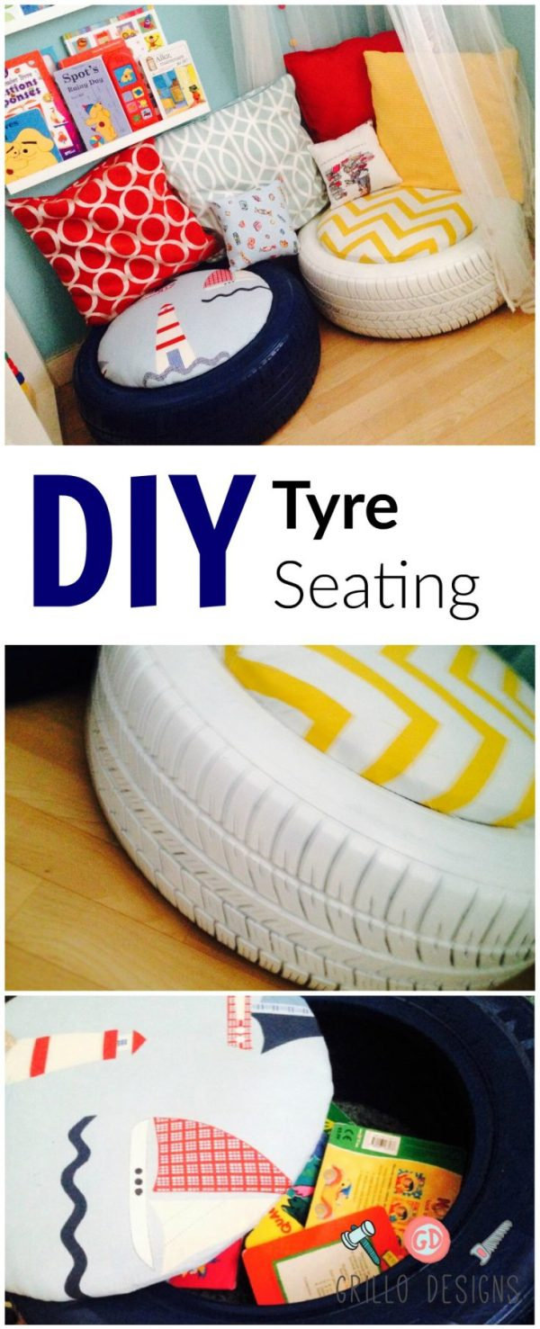 DIY KIDS TRYE SEATING