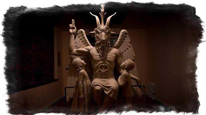 Черная Статуя Обнаженные Сатаны И Подобные